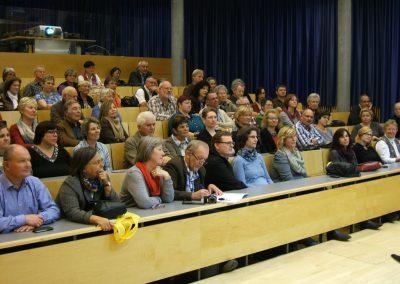 Veranstaltung im Hörsaal des HörCentrums Tübingen