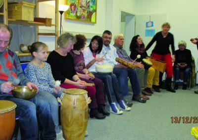 SHG-Treffen Musiktherapie